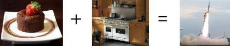 Souffle plus Kitchen equals Rocket Science
