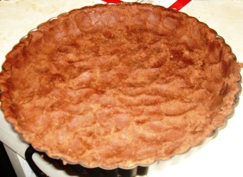 Baked Chocolate Cream Tart Crust