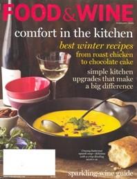 Food & Wine February 2009