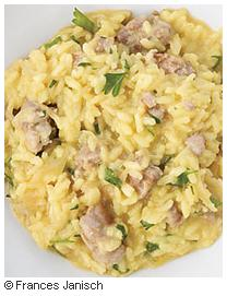 F&W Photo - Fennel & Sausage Risotto