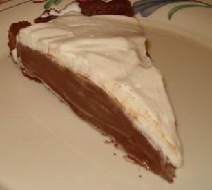Slice of Chocolate Cream Tart