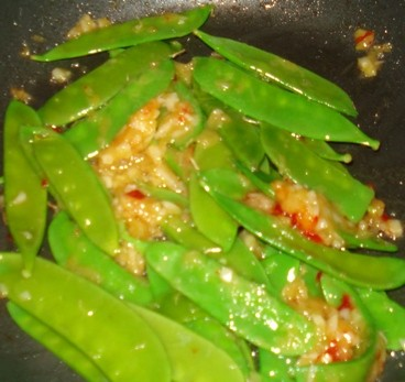 Snow Peas - Updated Chicken Chow Mein