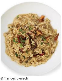 Wild Mushroom-and-Red Wine Risotto F&W Pic