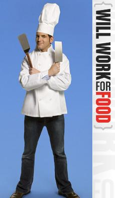 Adam Gertler Will Work for Food