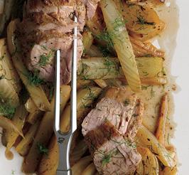 Fennel Roasted Pork Tenderloin