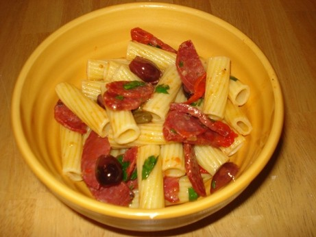 Rigatoni with Soppressata