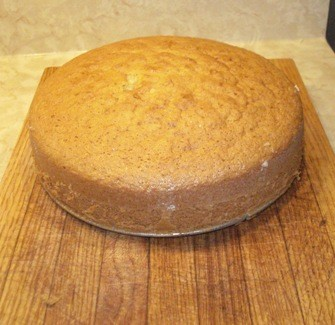 Almond Cake - Resting