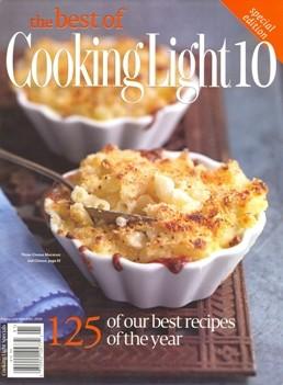 Best Of Cooking Light Volume 10