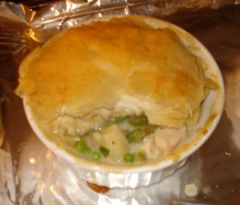 Finished Chicken Pot Pie