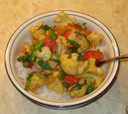 Stir-Fried Vegetables with Lemongrass