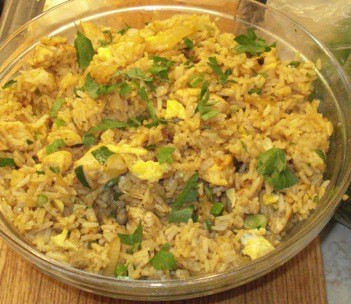 Thai-Style Curried Chicken Fried Rice2
