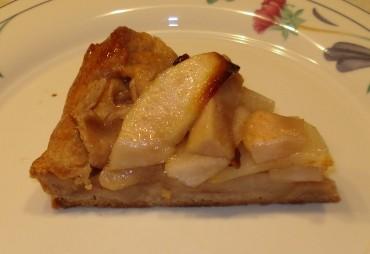 Rustic Pear Tart Slice