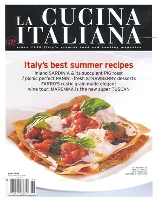 La Cucina Italiana June 2009
