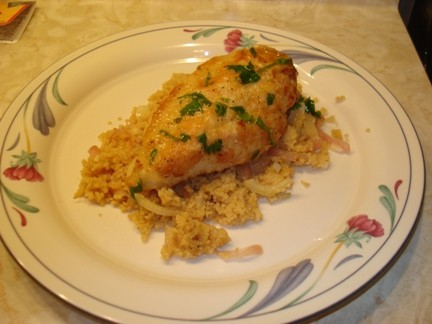 Chicken and Couscous with Fennel & Orange