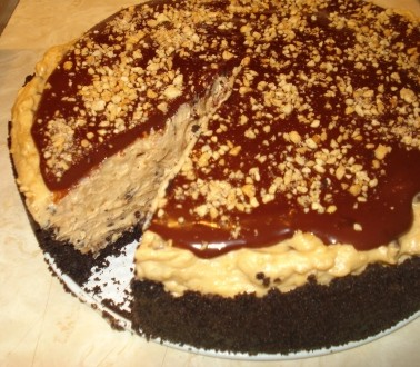 Peanut Butter Torte - Slice