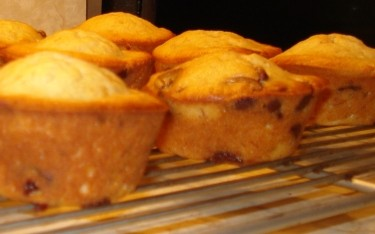 Banana Chocolate Chip Muffins 2