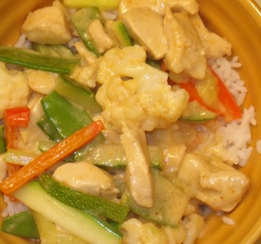 Coconut Curry Stir Fry 2