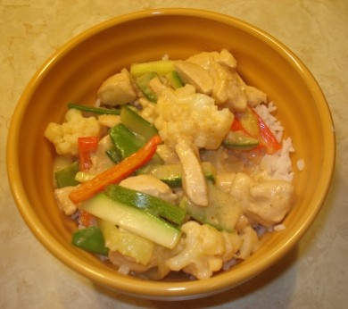 Coconut Curry Stir Fry