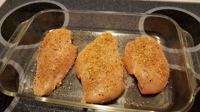 chicken ready for the oven