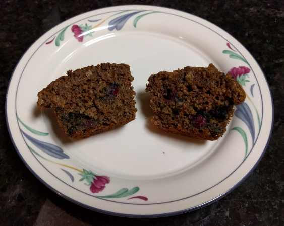 Blueberry Flax Muffin